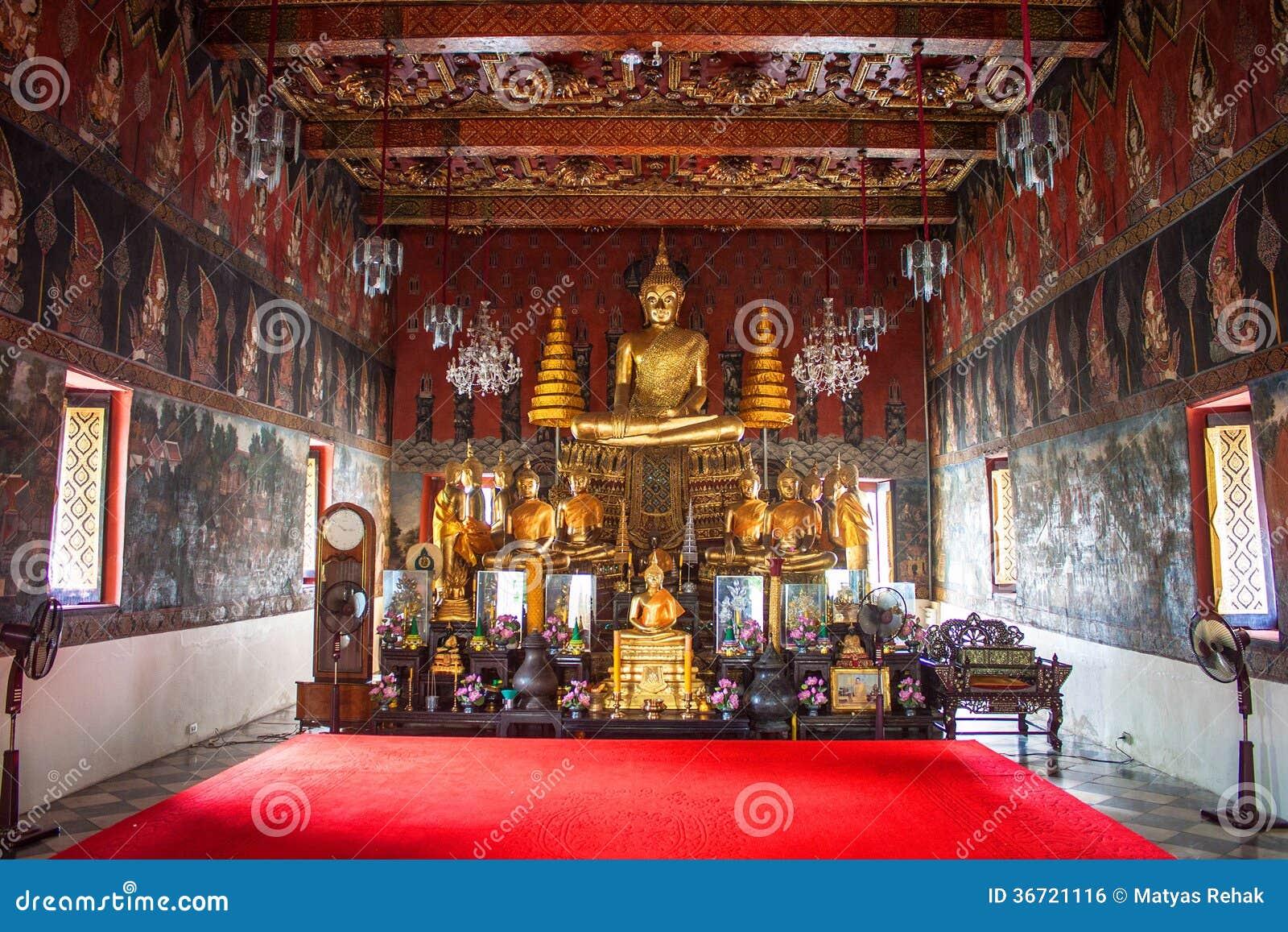 Wat Suwan Dararam Temple Royalty Free Stock Image - Image ...