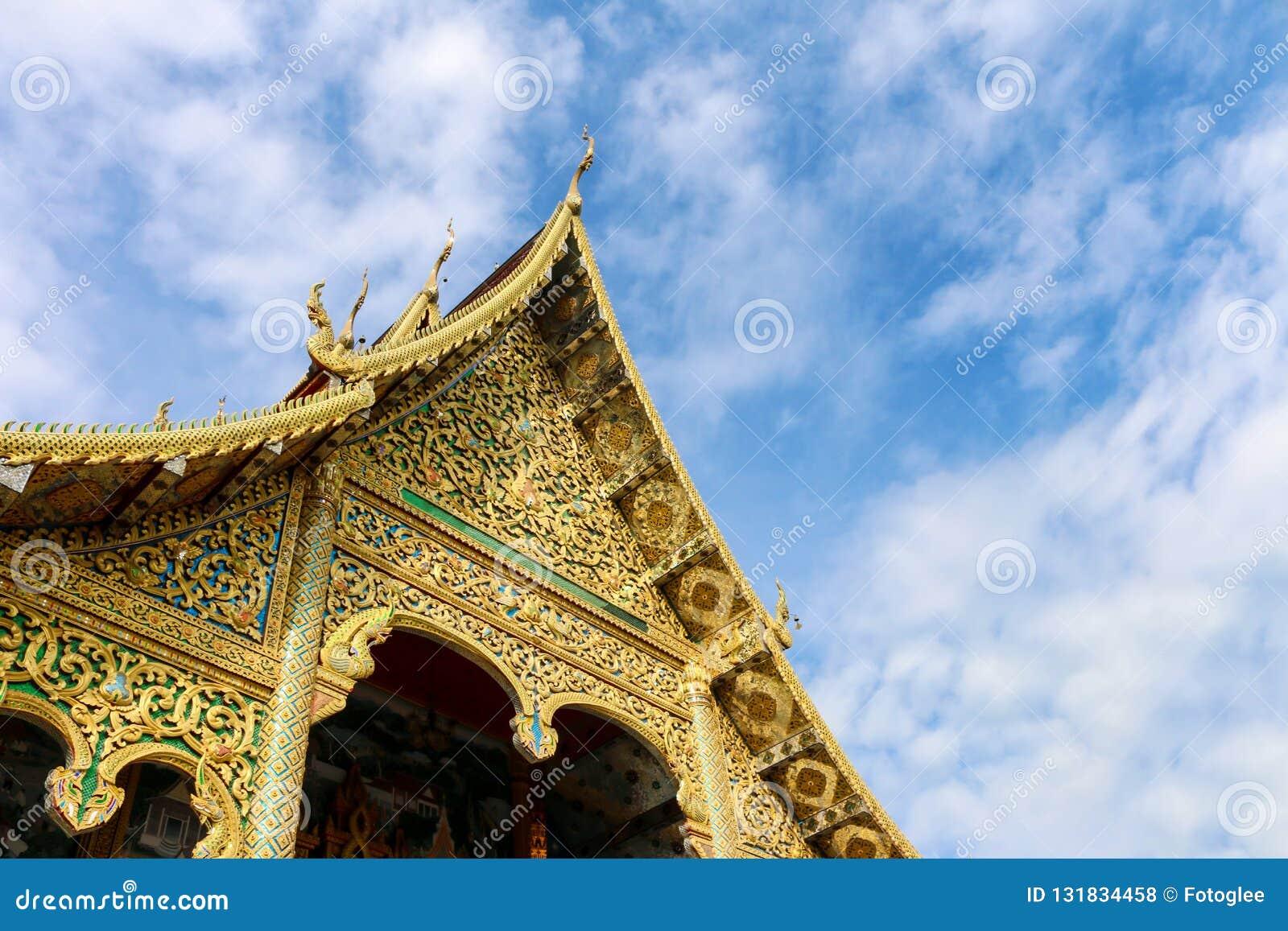 Wat Tha Ngio - buddhistischer Tempel, Lamphun Thailand