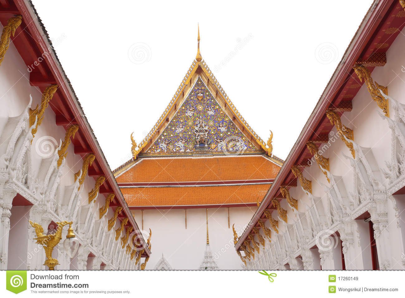 Wat thai royalty free stock images image 17260149 for Wat architecture