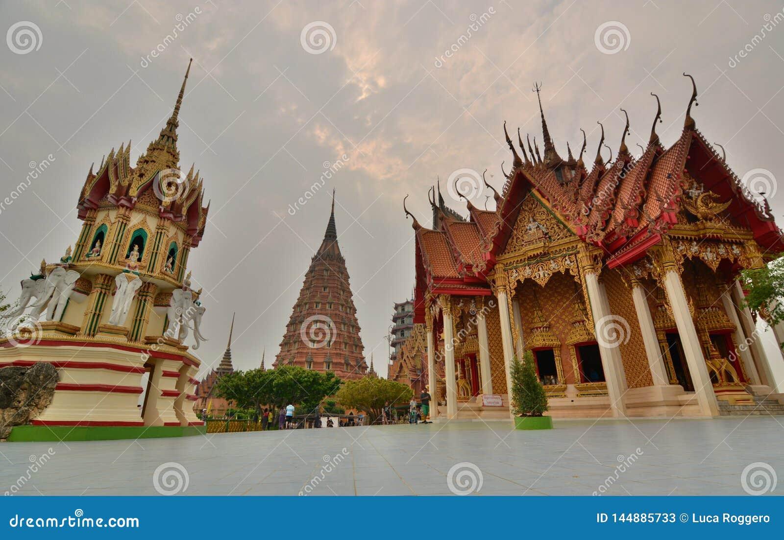 Wat Tham Suea. Tha Muang district. Kanchanaburi. Thailand