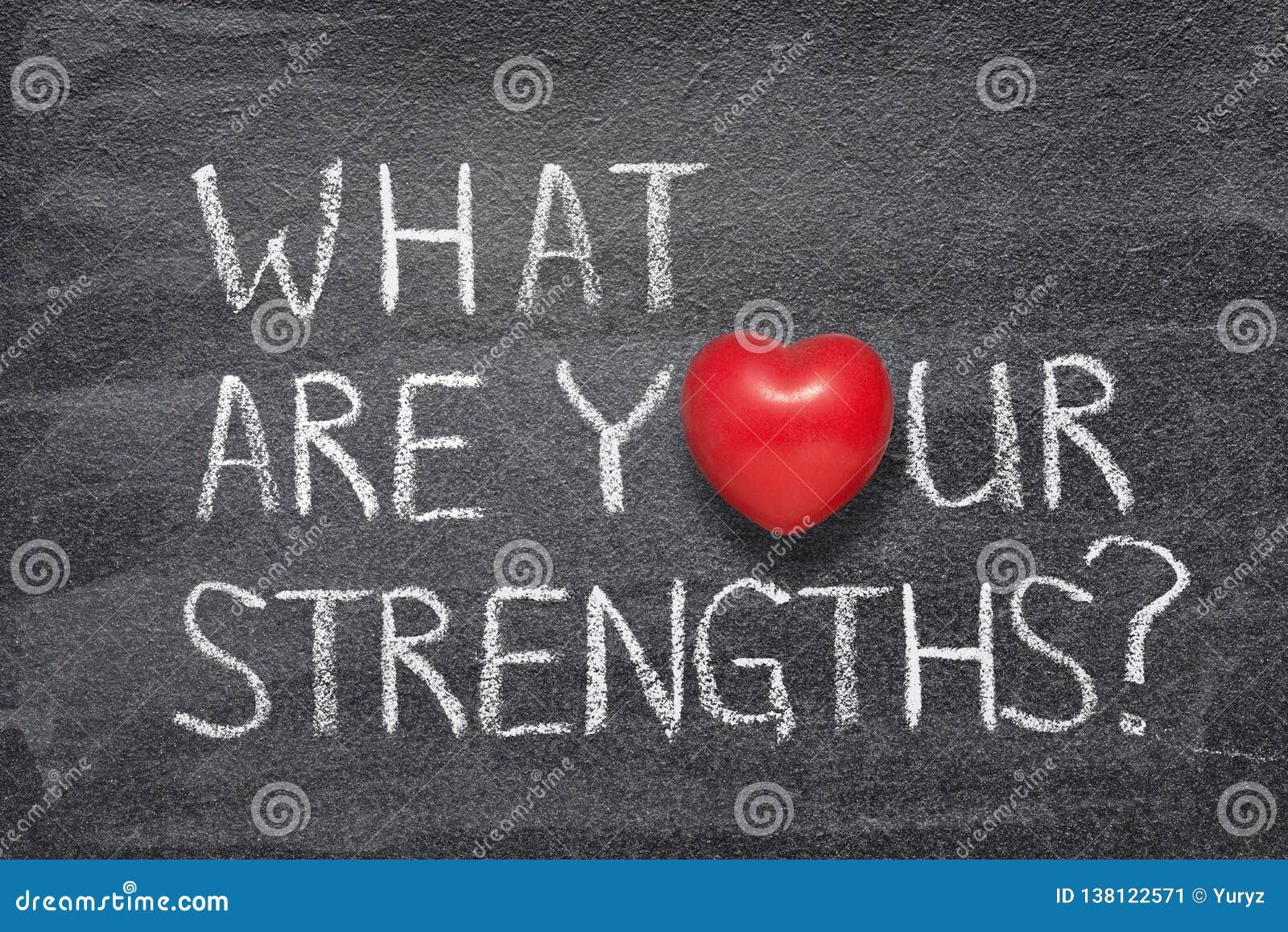 Wat uw sterke punten hart zijn