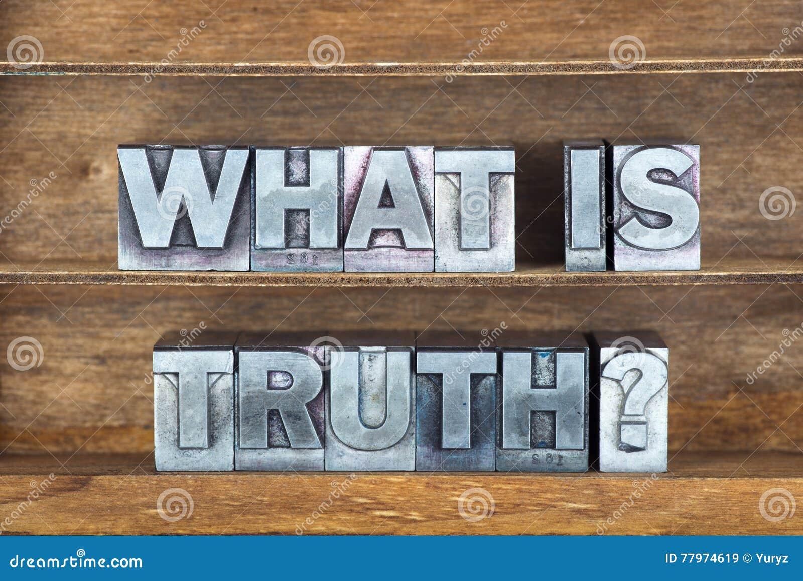 Wat waarheiddienblad is