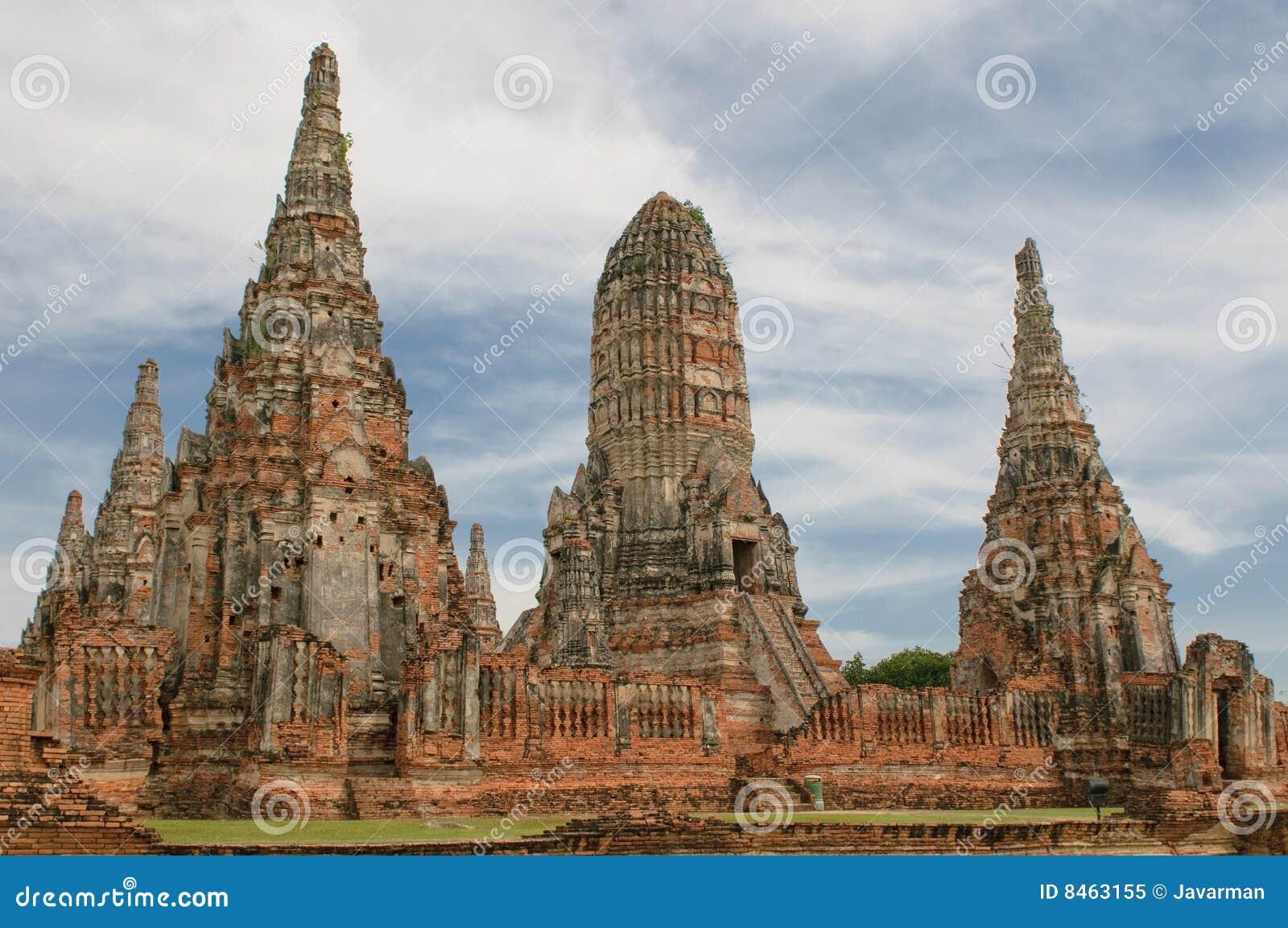 Wat Wattanaram, Ayutthaya, Thailand