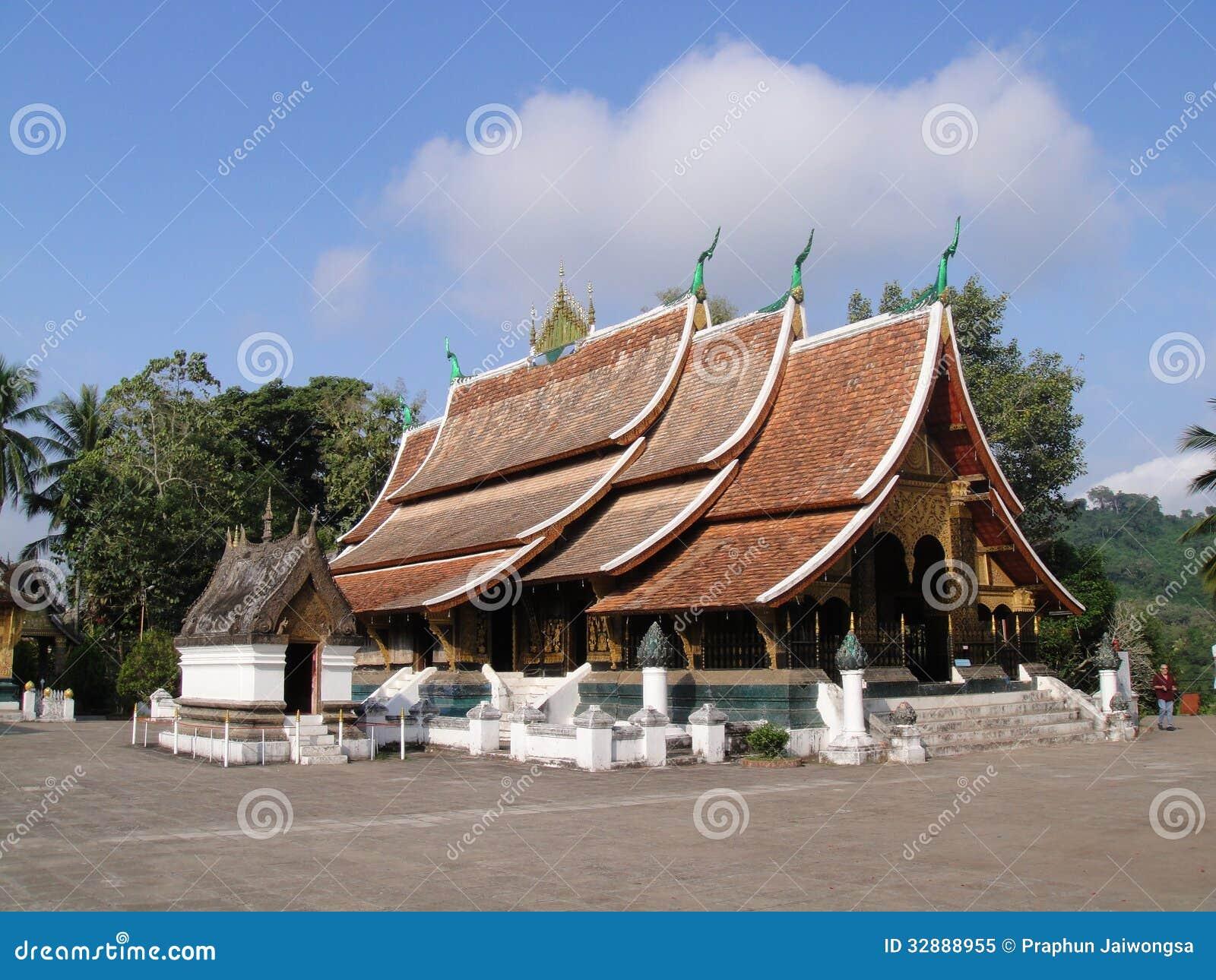 Wat Xieng Thong en Luang Prabang, Laos