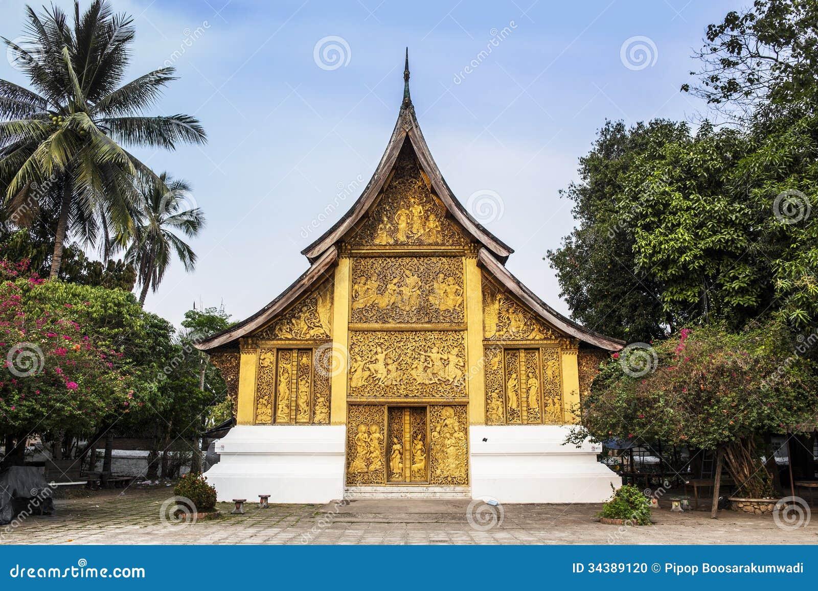 Wat Xieng Thong | Pure Laos Travel, Biking and Cultural Tours |Wat Xieng Thong Luang Prabang