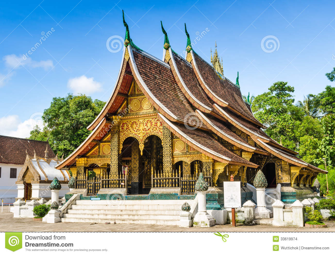 341] Golden Temple (Laos) | Wonders of the World, Best places to visit