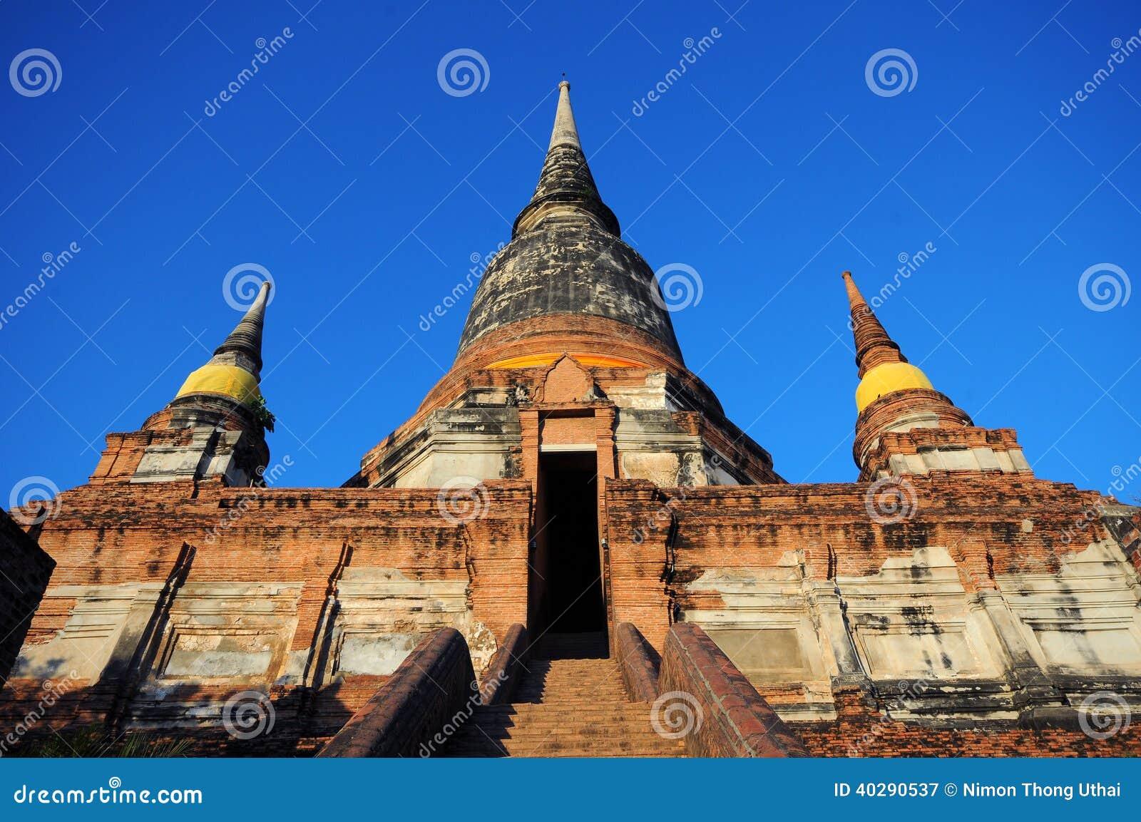 Wat Yai Chaimongkol, Ayutthaya, Таиланд