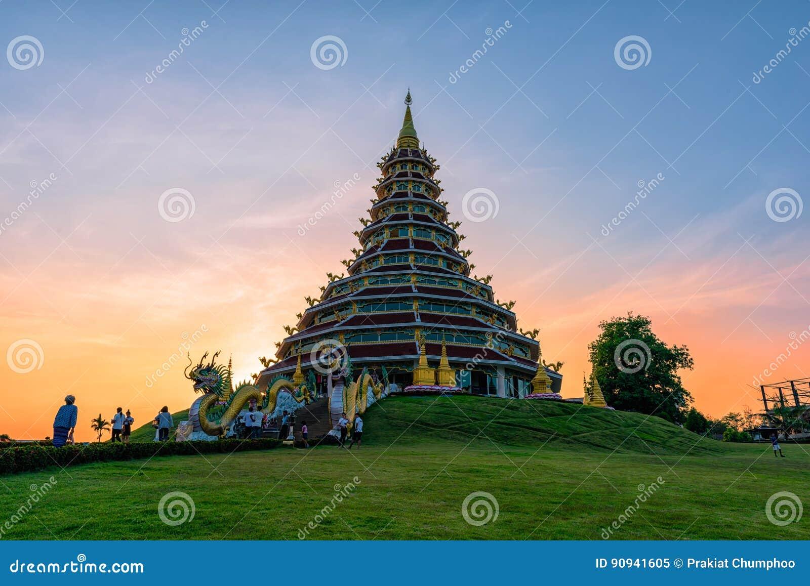 Wata Huai śliwki KungTemplein Chiang Raja, Tajlandia