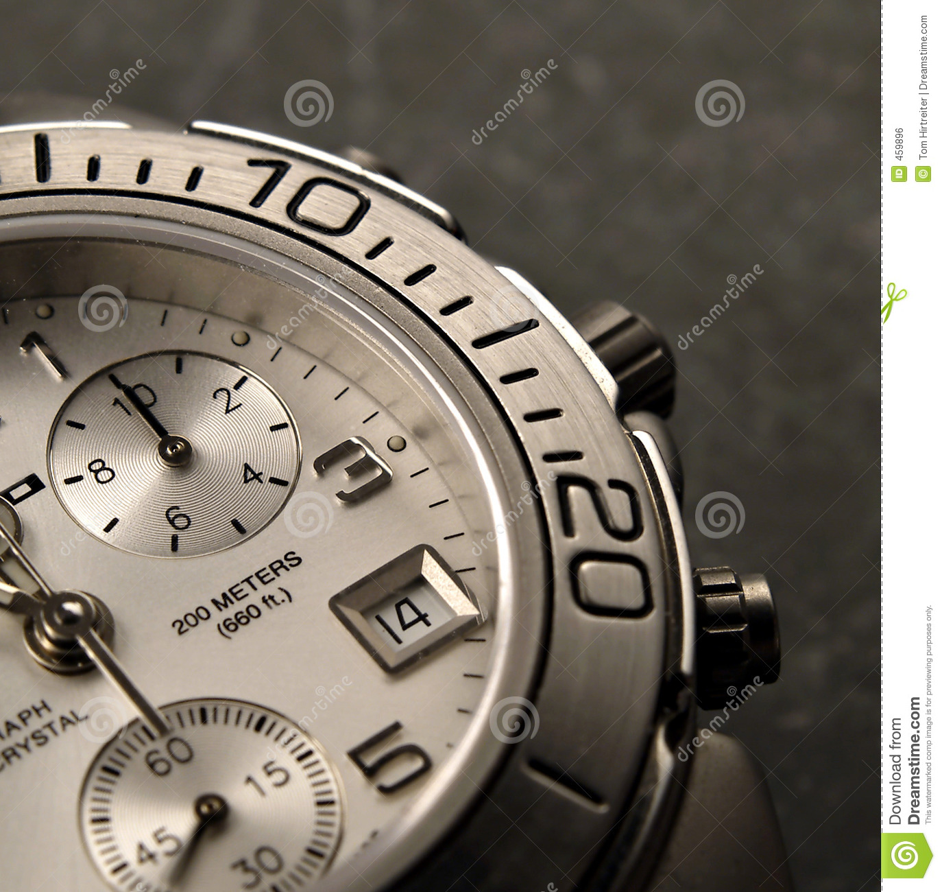 Download Watch stock photo. Image of silver, watch, timer, hands - 459896