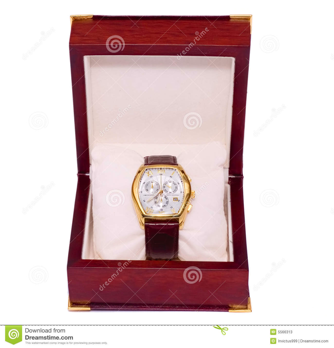 5175c33c4152 Watch Box Birthday Gift Present Stock Image - Image of beautiful ...