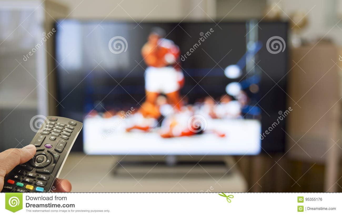 Watch boxing match on tv