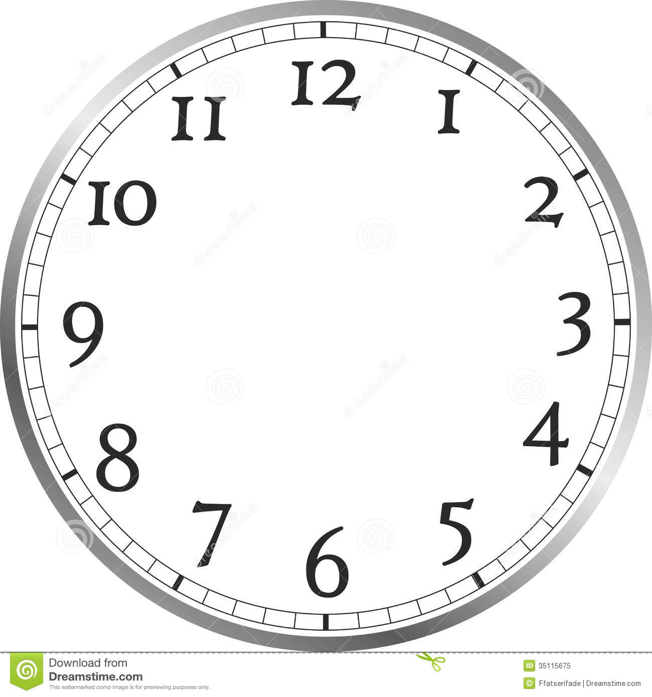 Watch Face Royalty Free Stock Photo Image 35115675