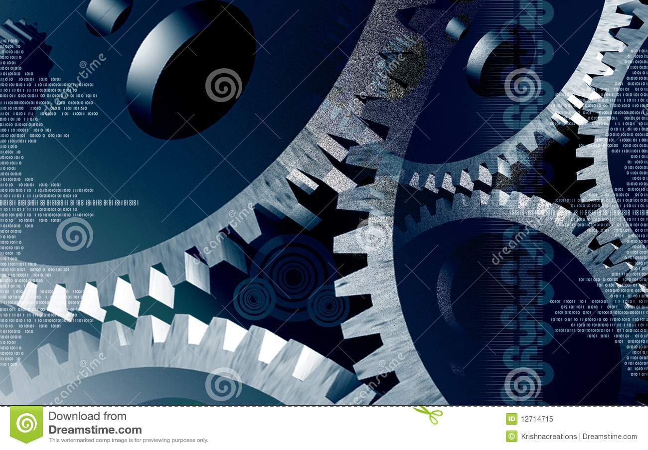 Watch Gears Royalty Free Stock Photo - Image: 12714715