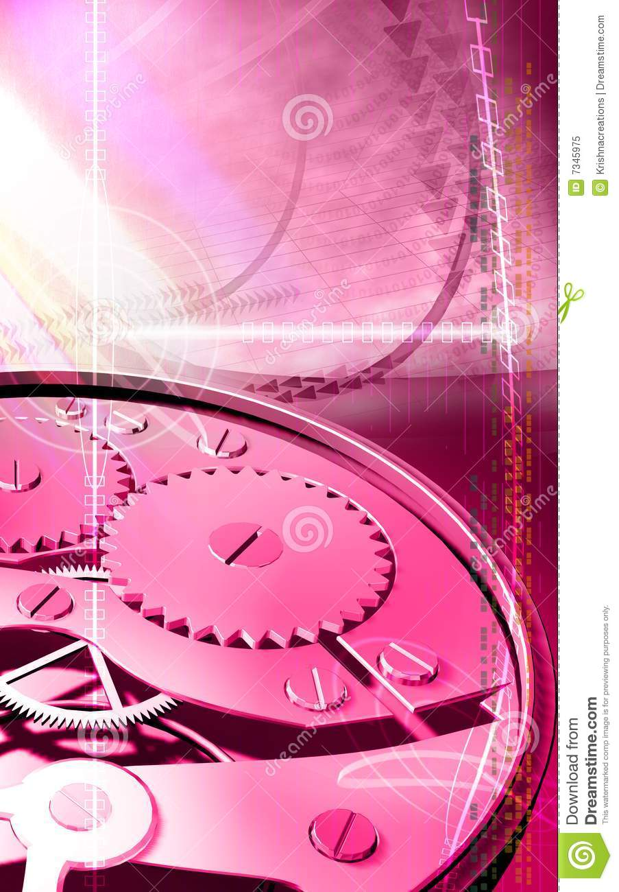 Watch Gears Royalty Free Stock Photo - Image: 7345975
