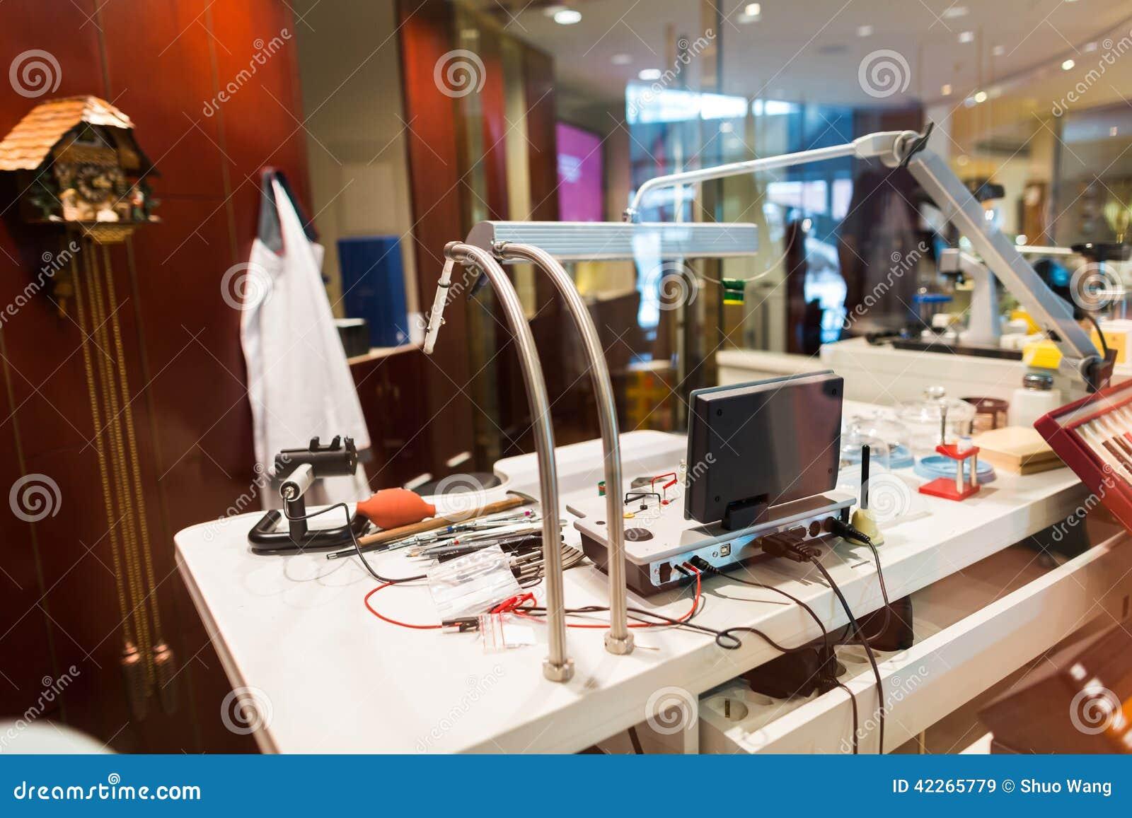 Watch Repair Stock Photo Image 42265779