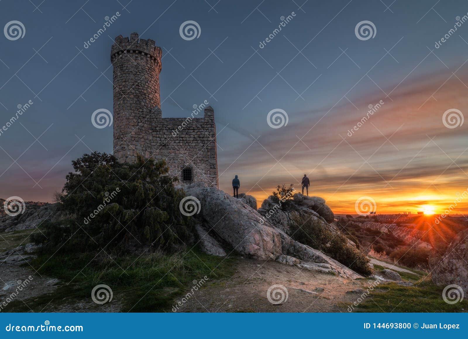 Watchtower in Dawn