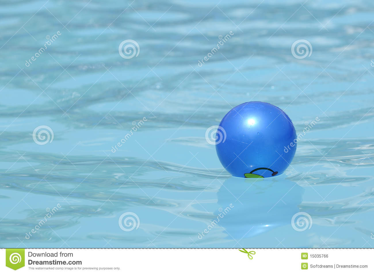 water ball in swimming pool royalty free stock image image 15035766