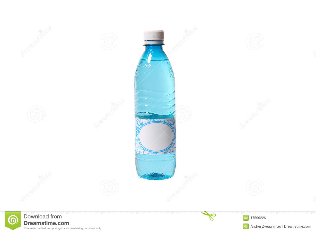 Soda Water Bottle With Blank Label Royalty Free Stock Images ...