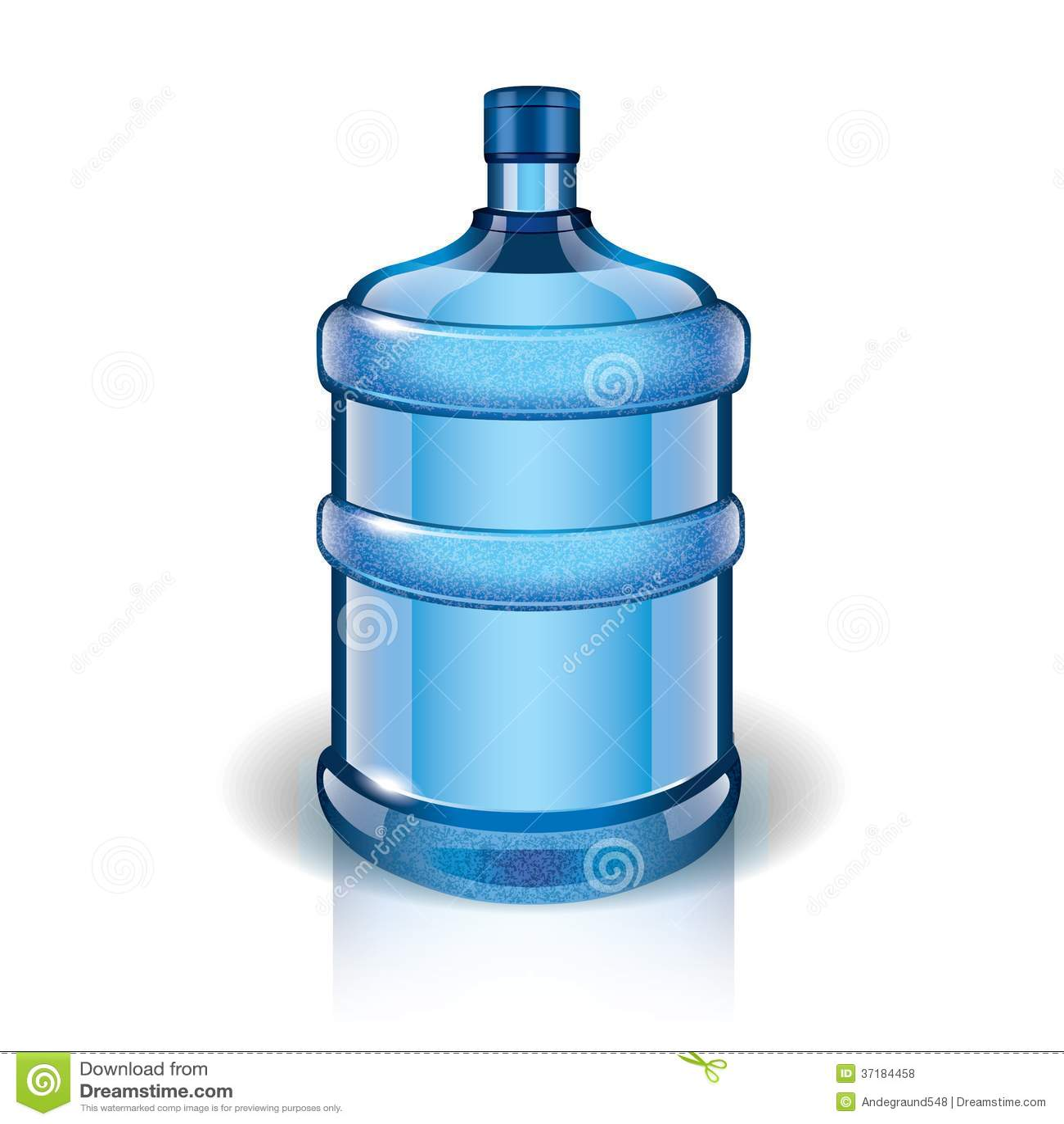 Water Bottle Vector: Water Bottle Vector Illustration Stock Vector