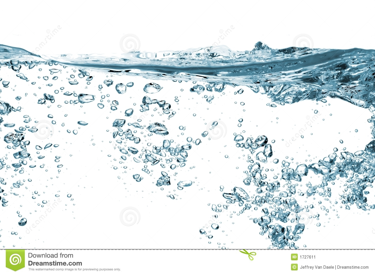 Water Bubbles Stock Image. Image Of Potable, Drops