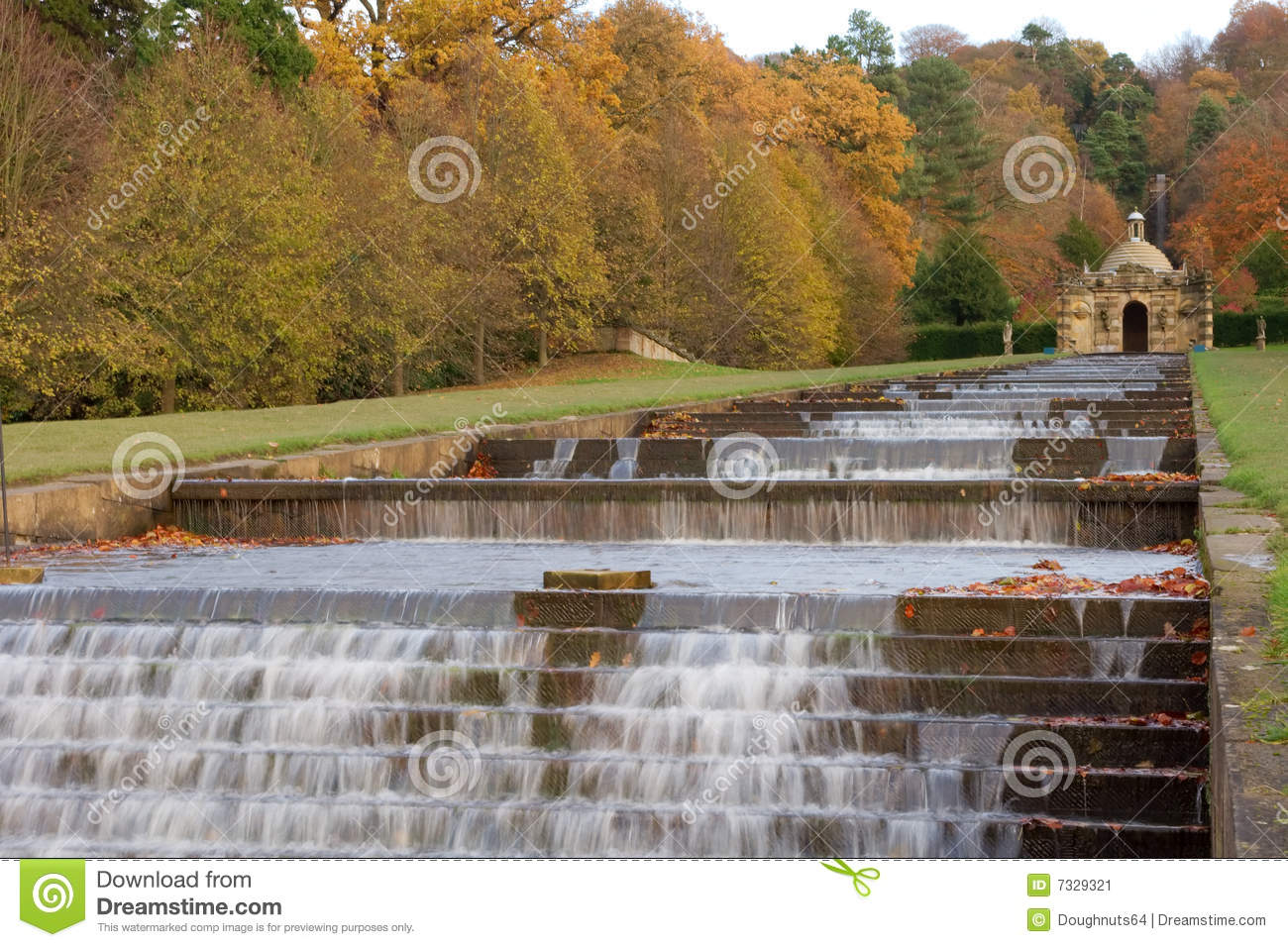 Water cascade at chatsworth house stock image image 7329321 for Cascade house