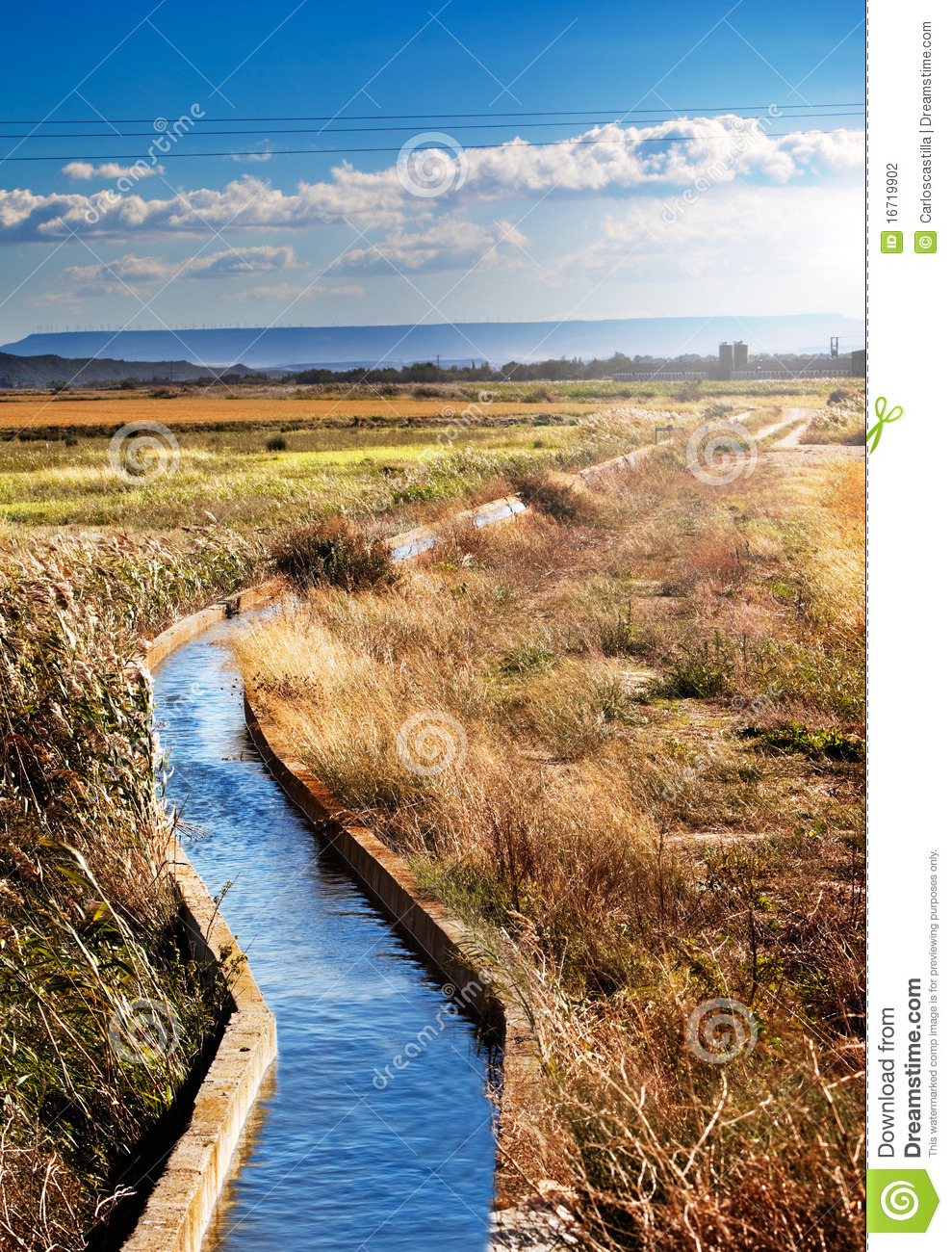 Water Channel Stock Photography - Image: 16719902