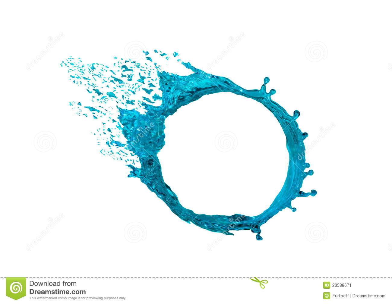 water circle stock image image of splash  water  liquid 23588671 spray paint clipart spray paint free clipart