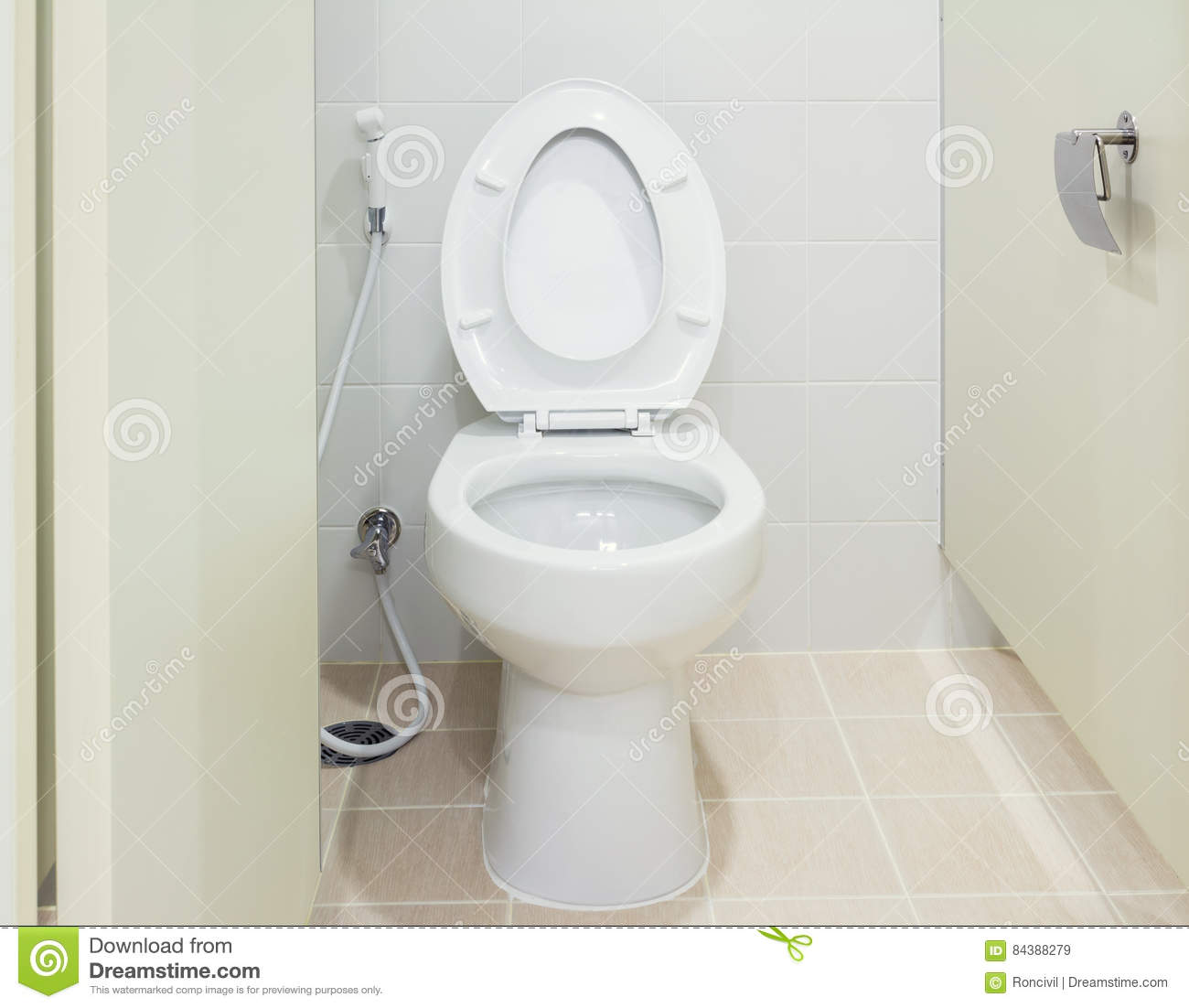 Water Closet Toilet Stock Image Image Of Domestic Drainage