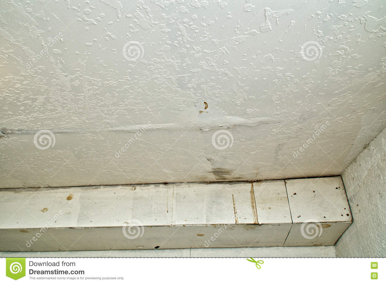 Leak in ceiling when it rains Leak in ceiling when it rains