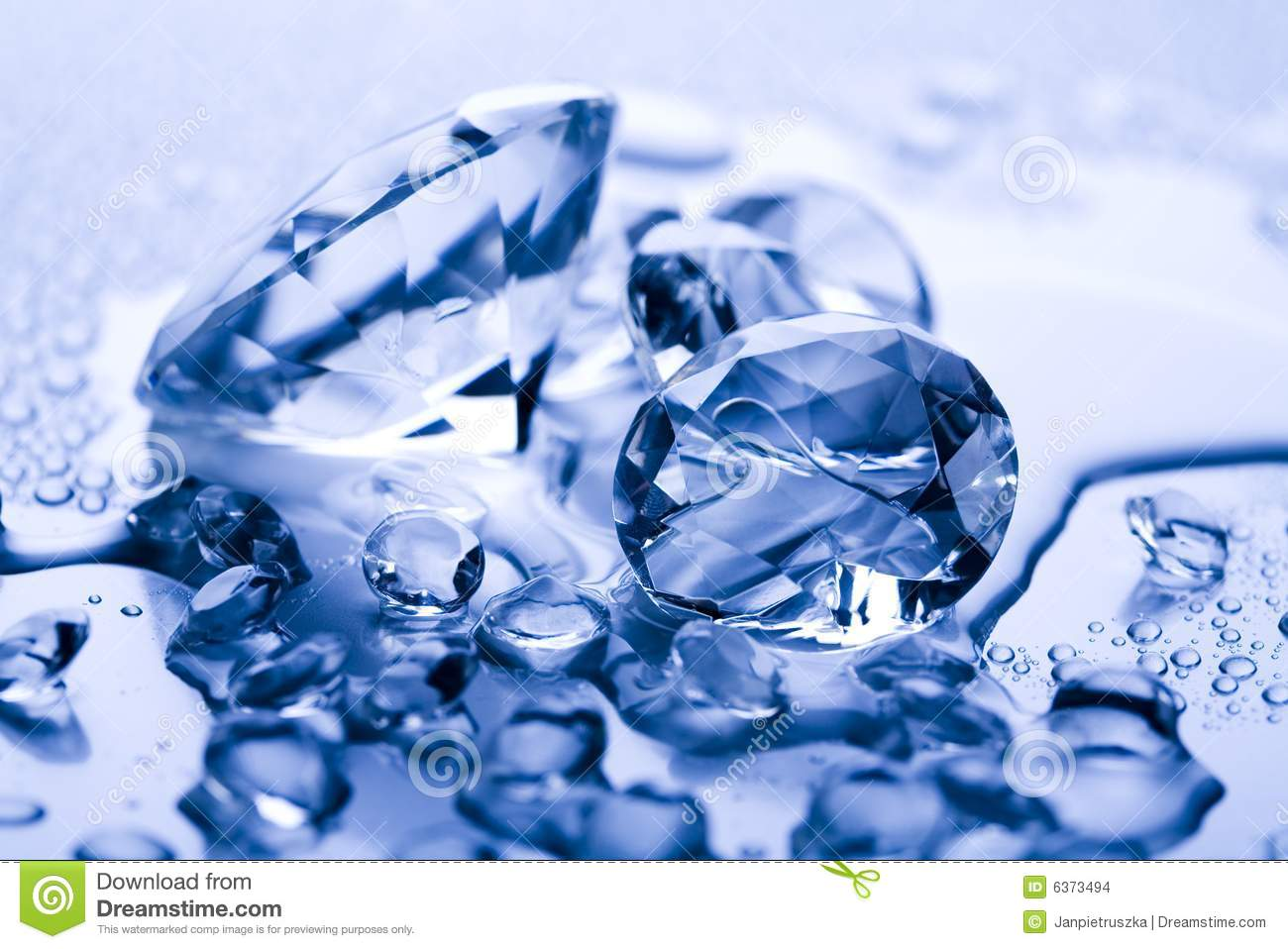 Water & Diamond Stock Images - Image: 6373494