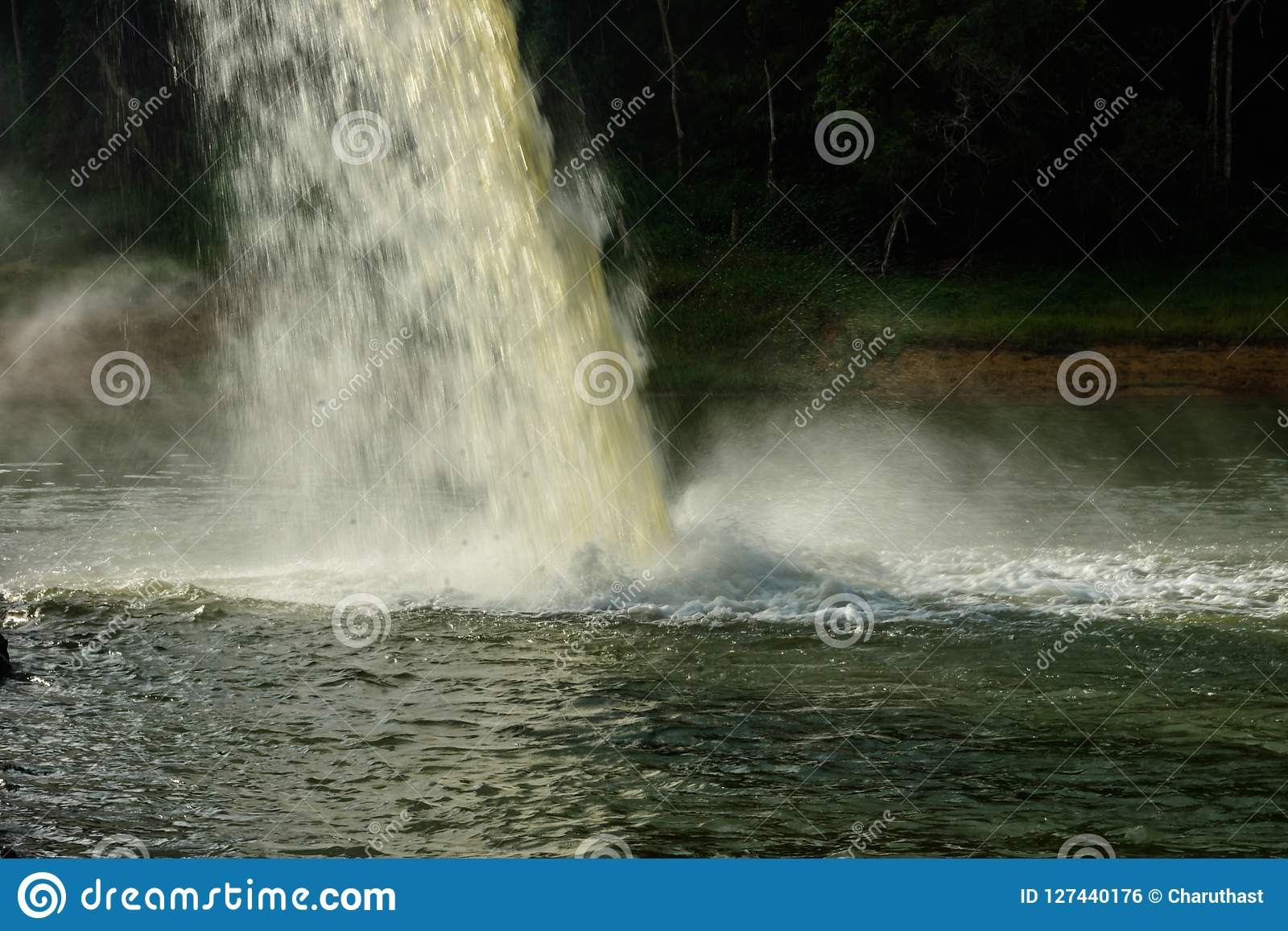 Water from the drain In the production of water
