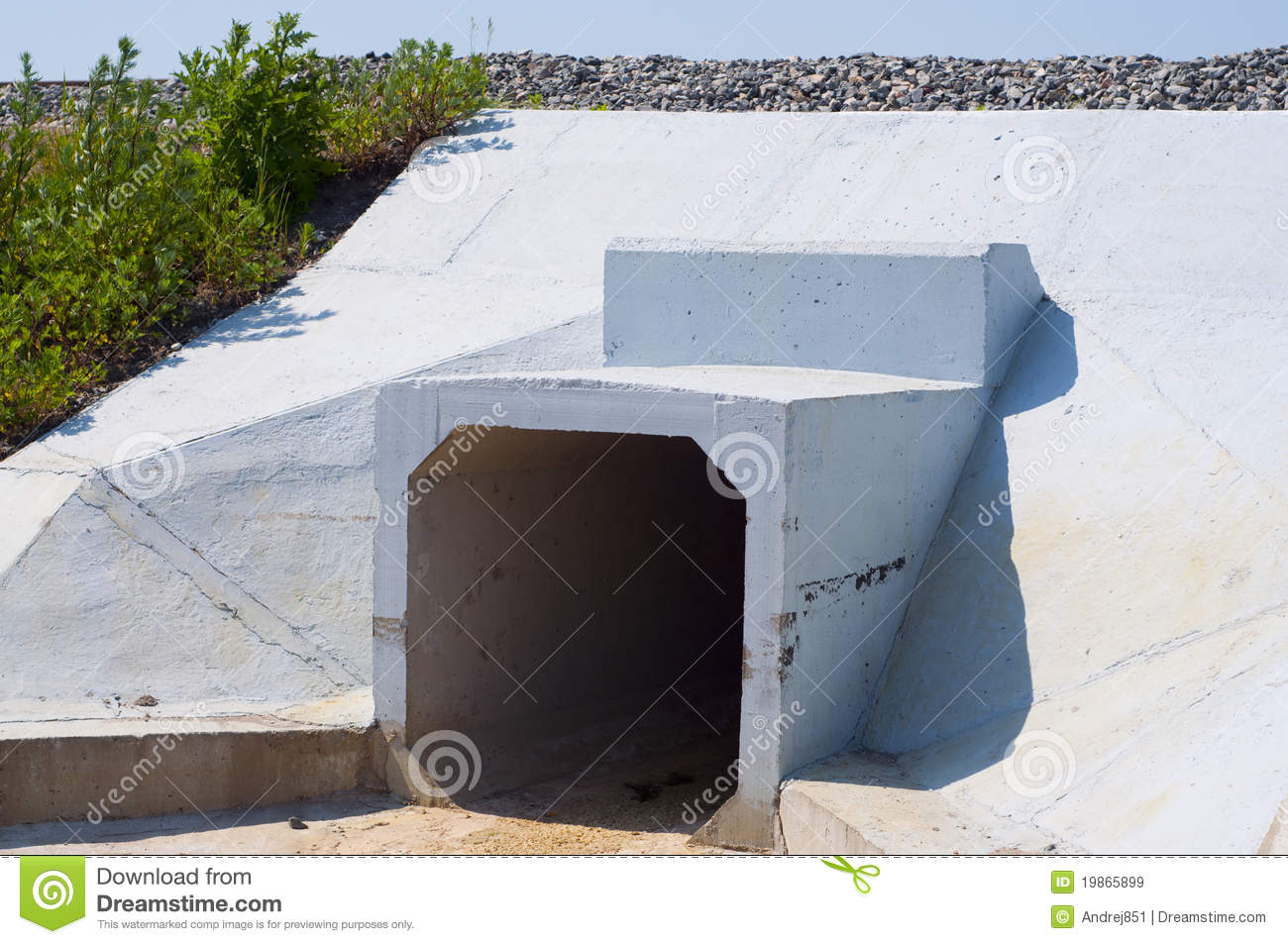 Water drainage system stock photography cartoondealer for Drainage system