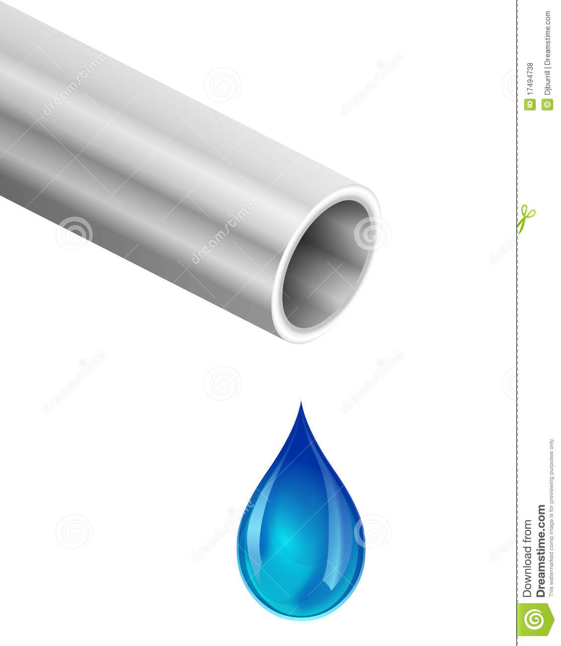 Water Dripping From Pipe Royalty Free Stock Photos - Image: 17494738