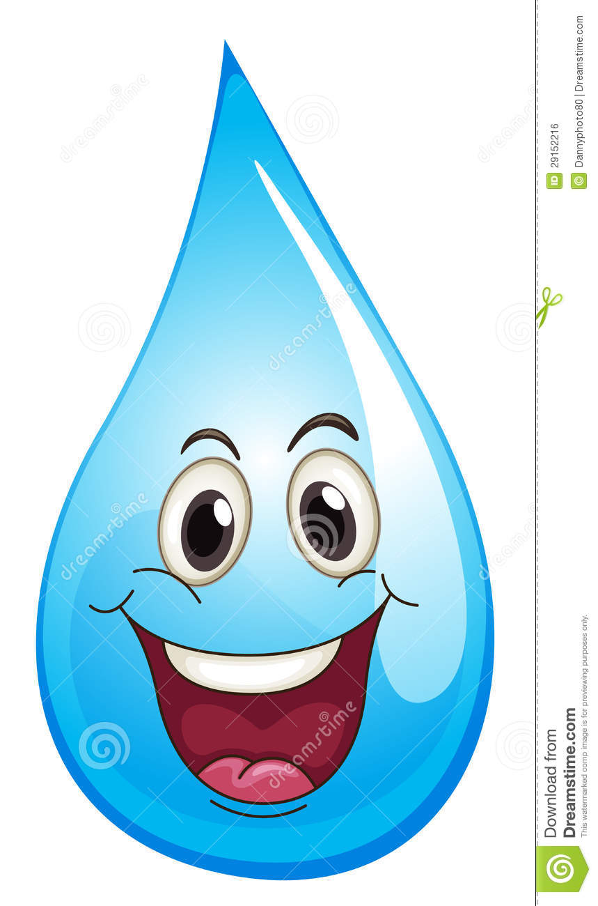 pics for gt happy water drop clipart