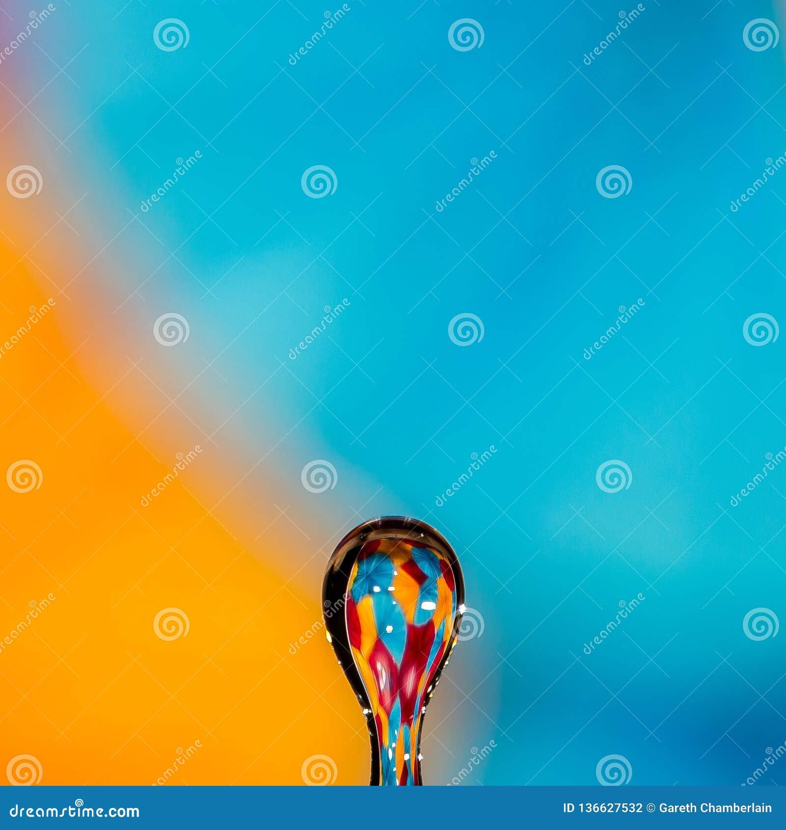 The water drop balloon - studio