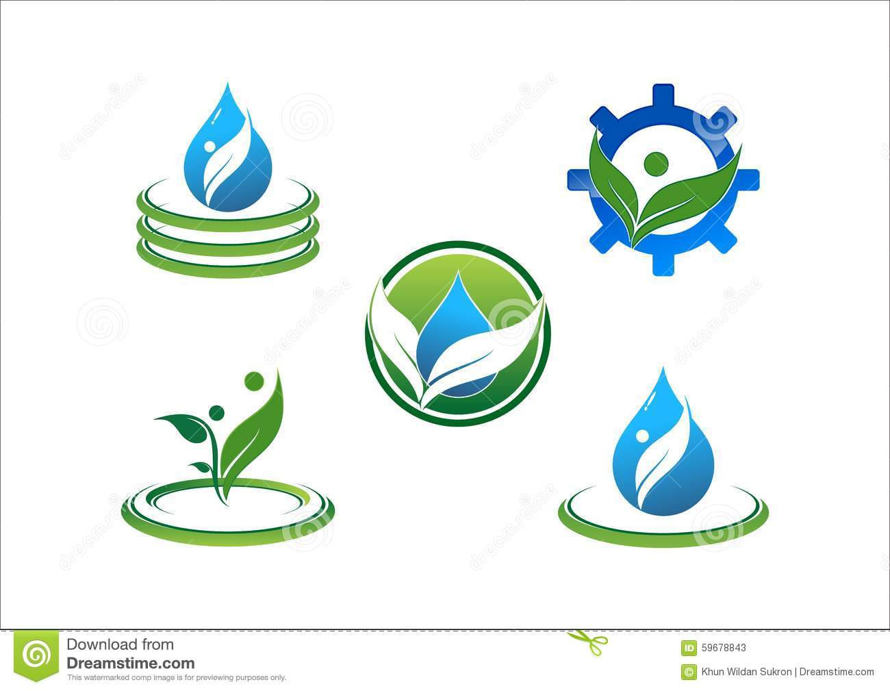 Uv Drop Logo And Icon Uv Infographic Royalty Free Stock