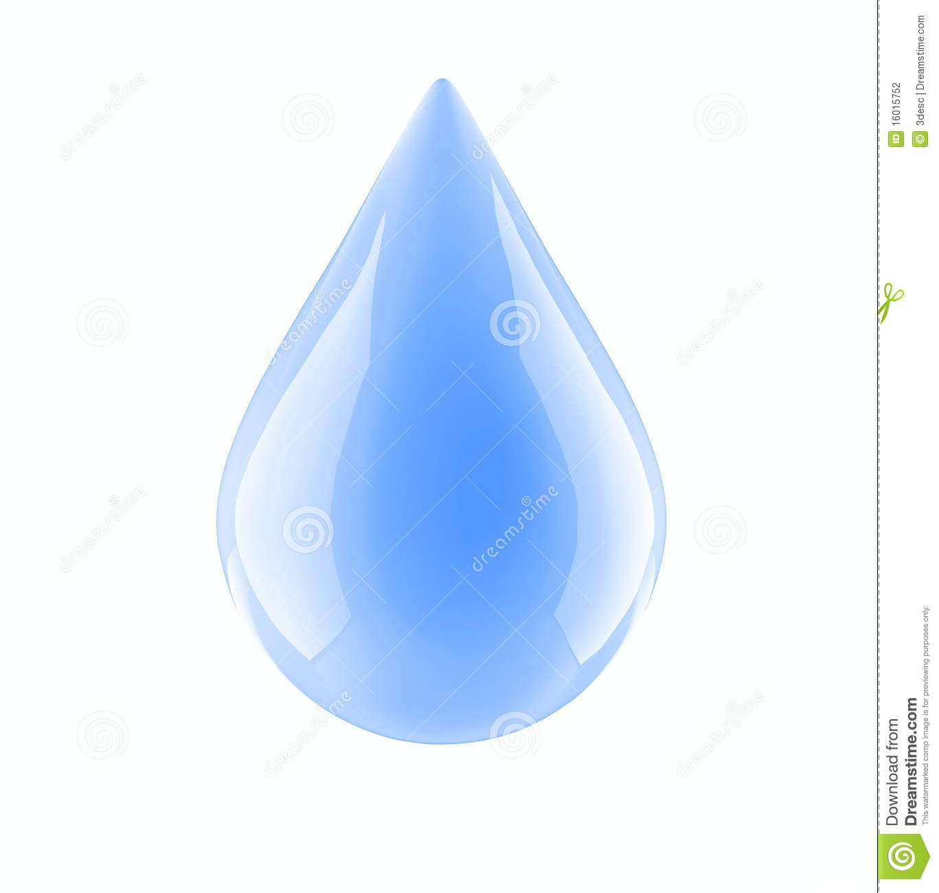 Water Drop On A...