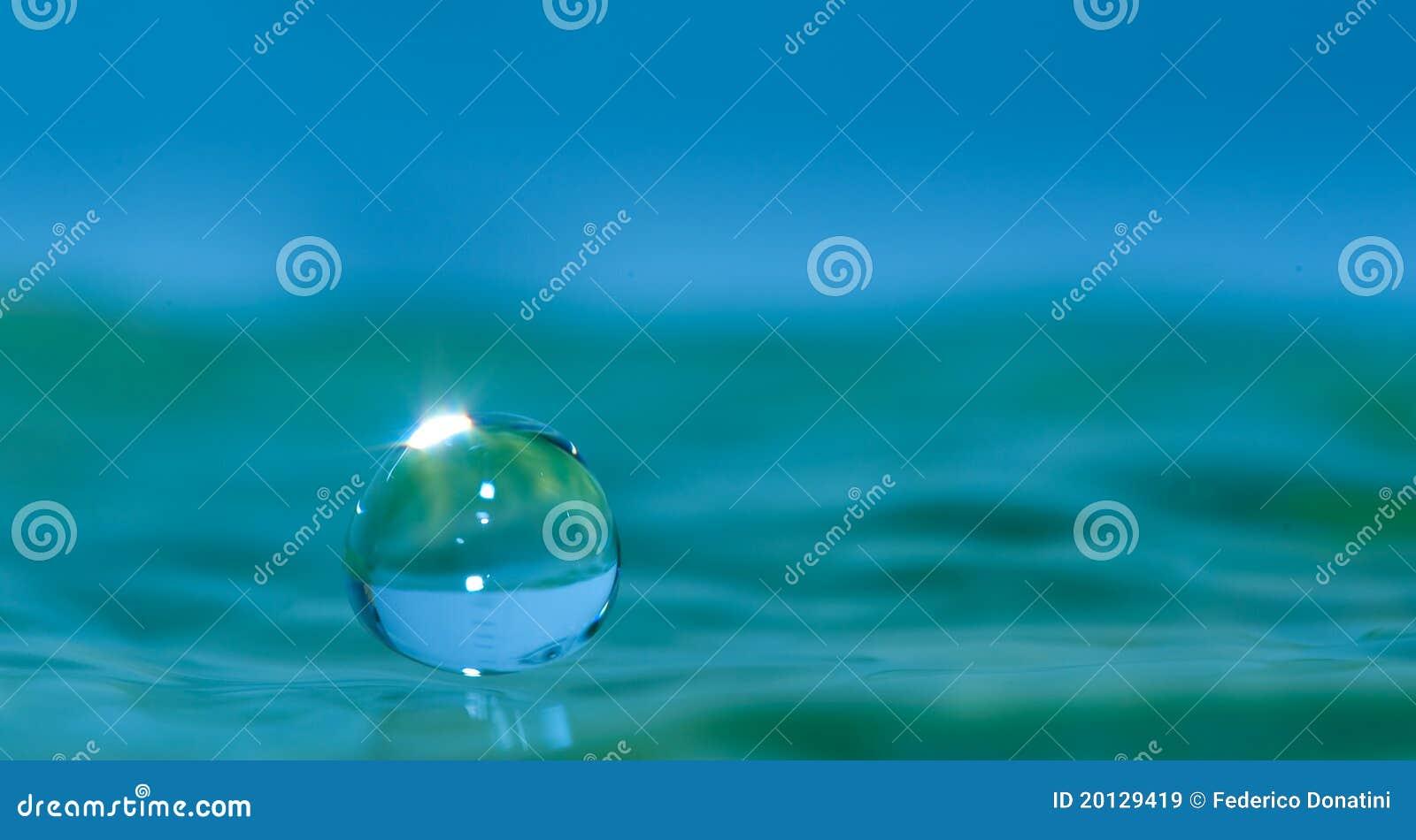 Water droplet