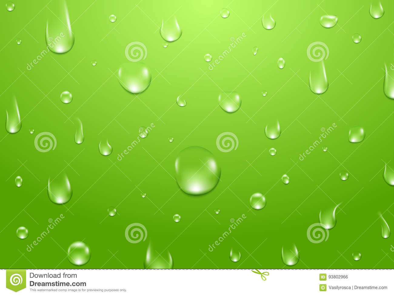 Download Water Drops Background. Fresh Aqua Or Healthy Natural Concept Stock Vector - Illustration of healthy, drop: 93802966