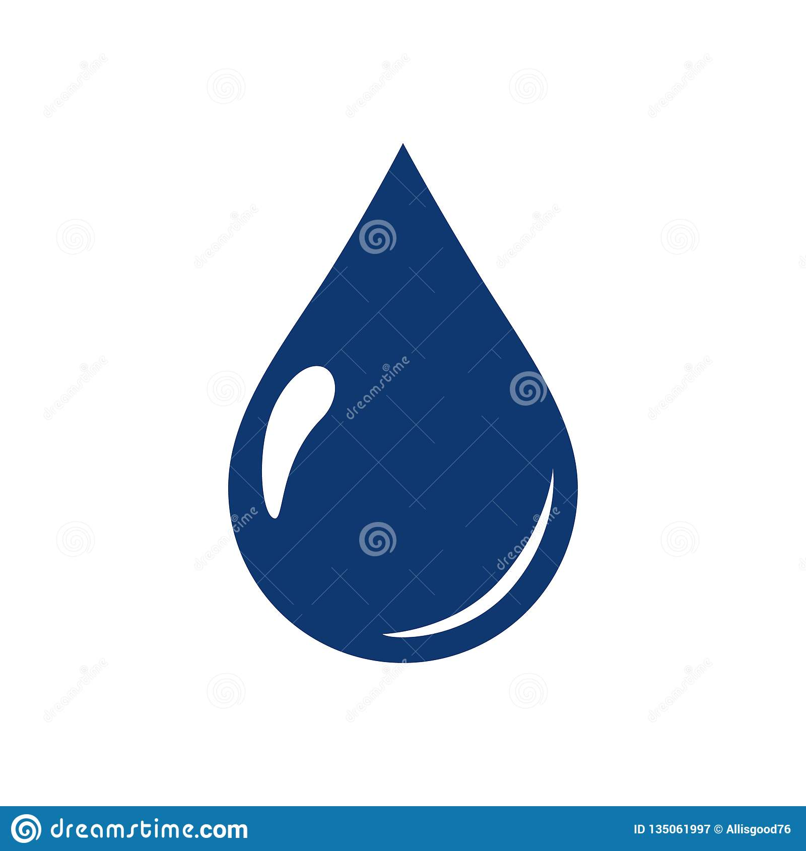 Water drops icon symbols vector. Ecological water icon for web page. Aqua environment or nature raindrop simple isolated