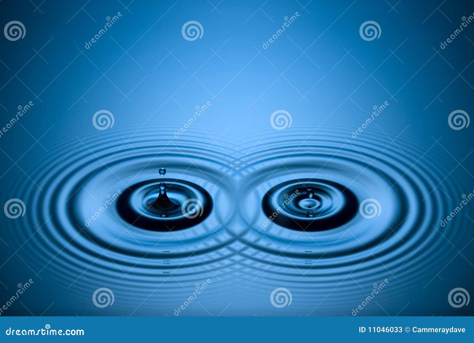 Water Drops Ripples