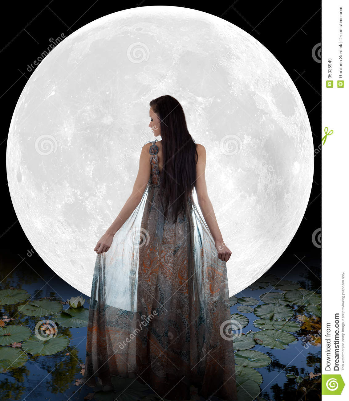 Water Fairy Royalty Free Stock Images Image 35336949