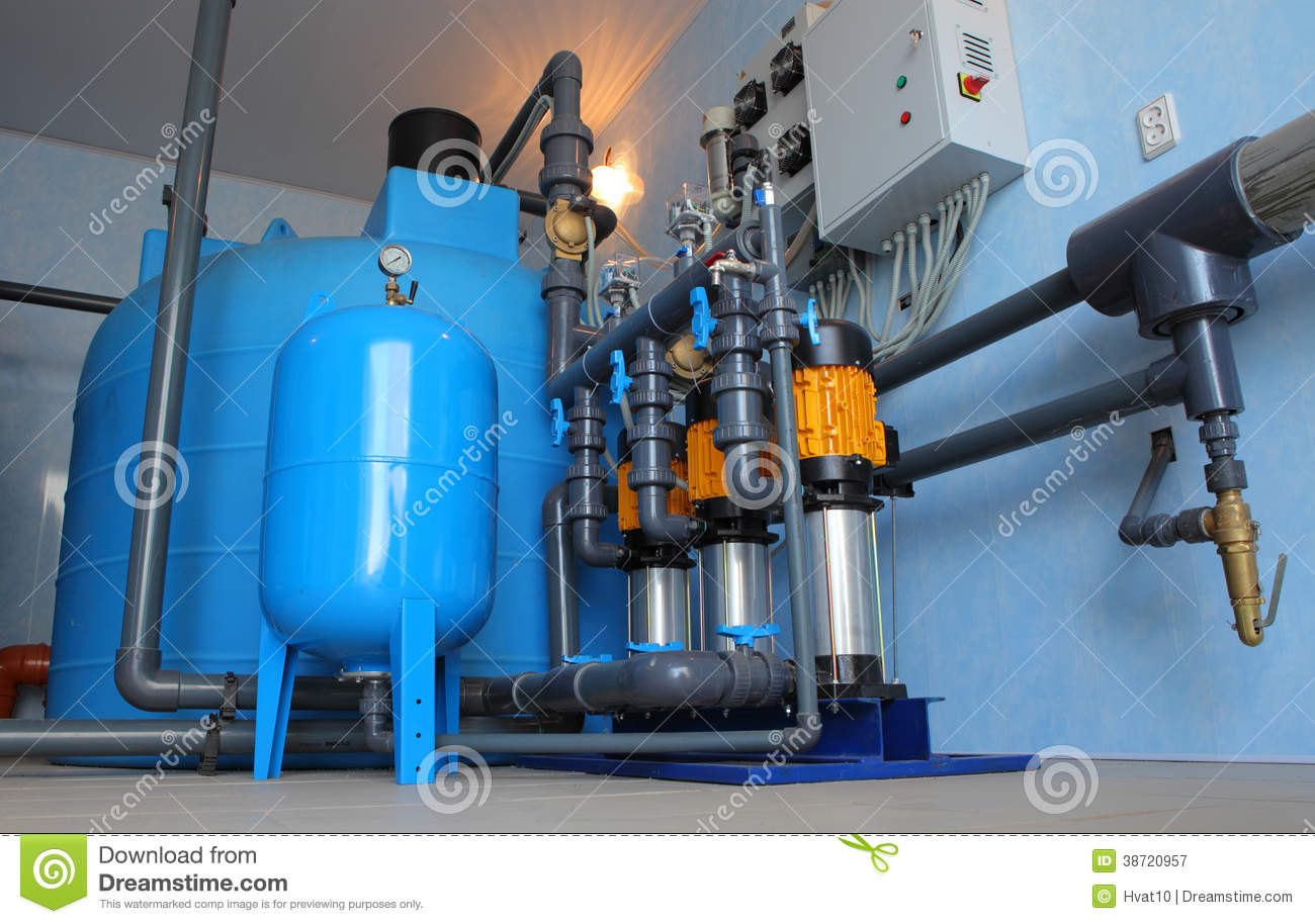 Water Filtration System Royalty Free Stock Photography Image 38720957