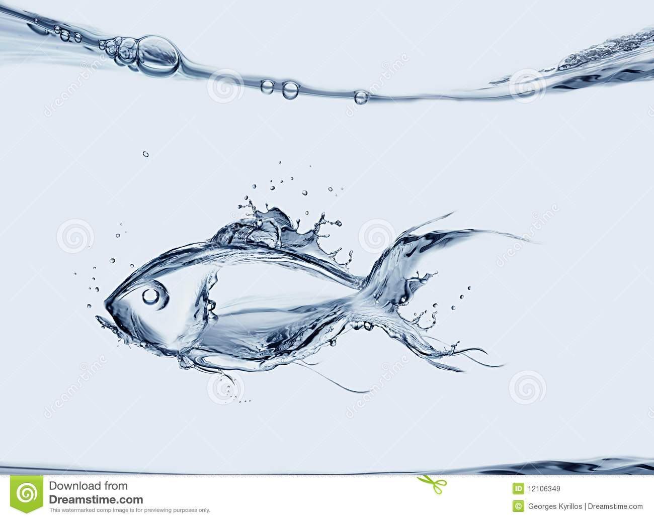 Water fish stock image image of fins water creation for Dream about fish out of water