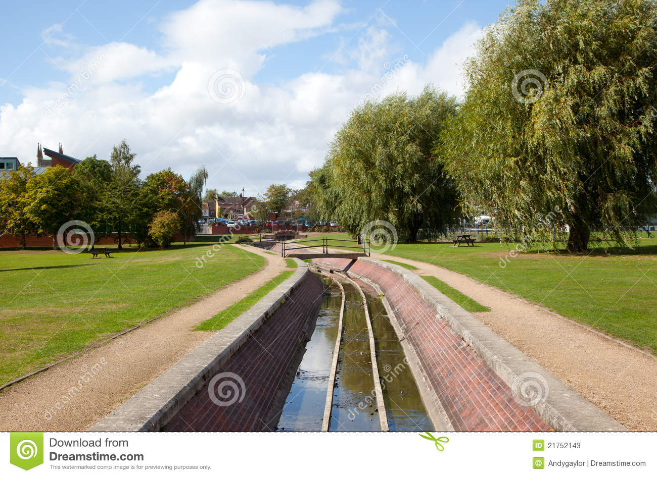 Water Flood Drainage System Stock Image Image Of Safety