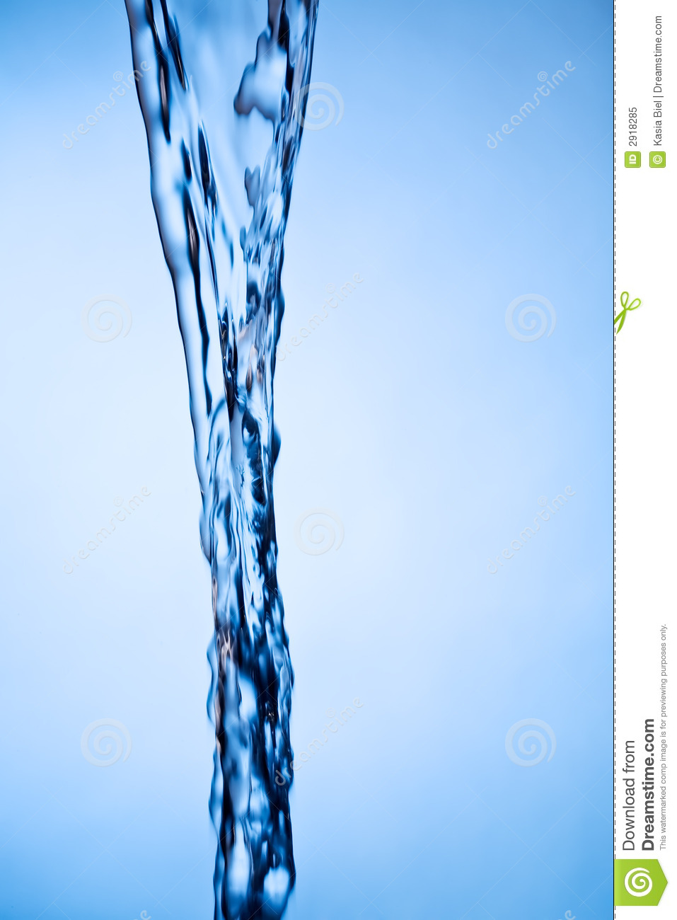 Water flow stock image. Image of flowing, freshness, close ...