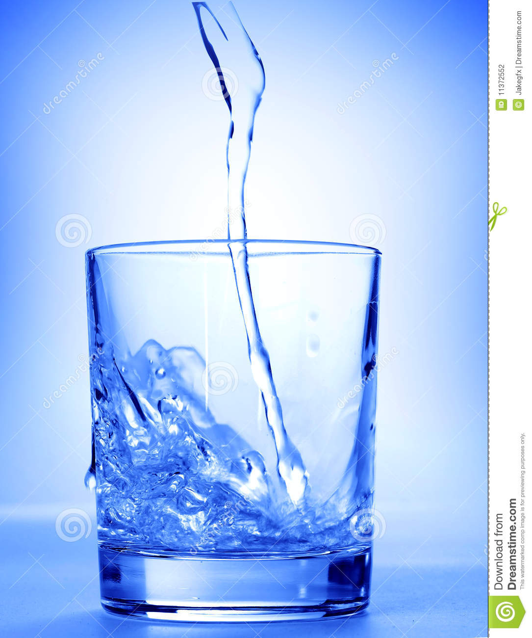 Water In A Glass Stock Photography - Image: 11372552