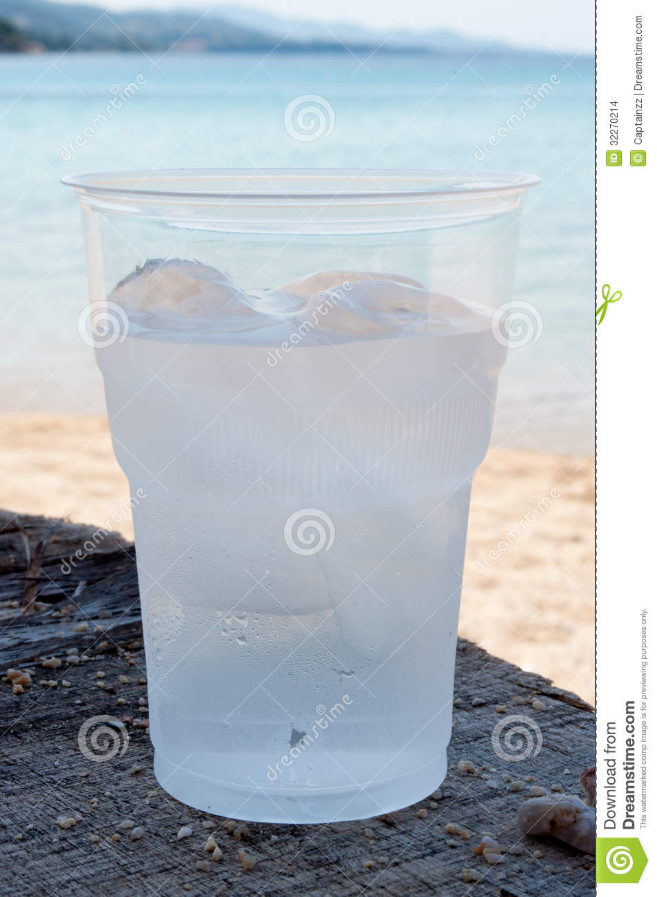 Water With Ice Stock Images - Image: 32270214