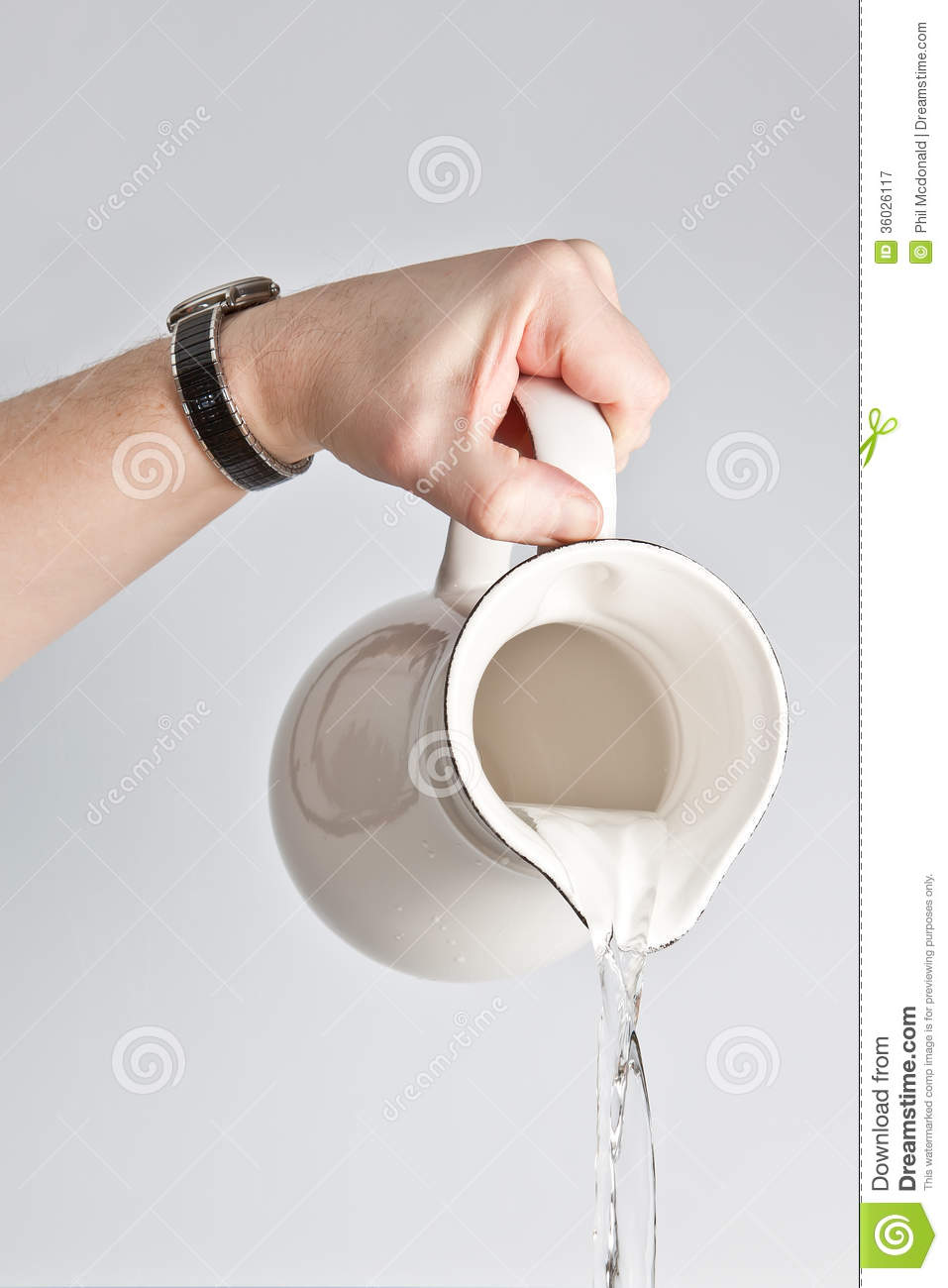 Water Jug Stock Image Image Of Pouring Handle Purity