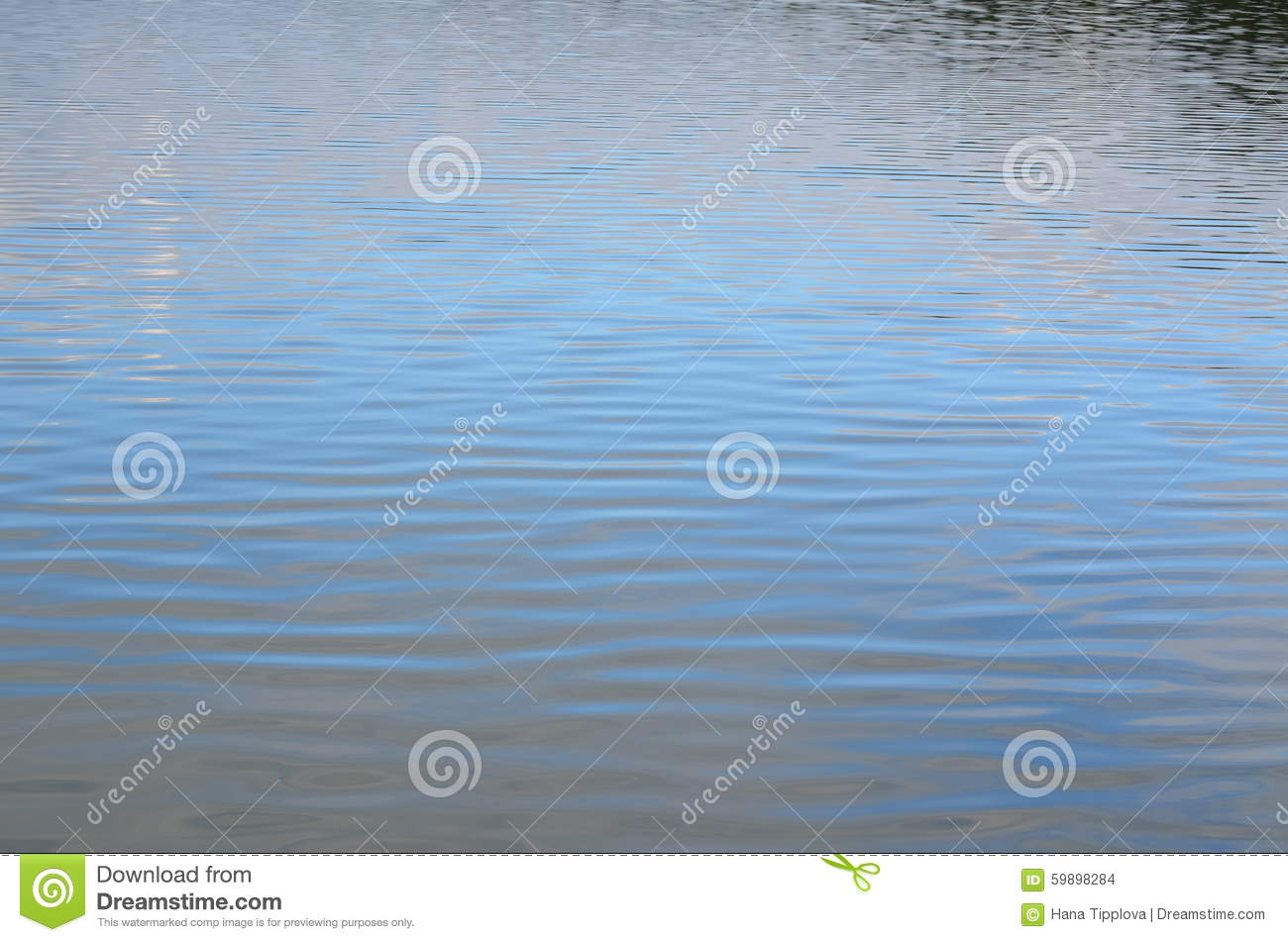 Water level of the pond